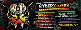 Party flyer: Cyber X-Mass 2016 24 Dec '16, 23:00