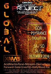 Party flyer: Global X-MAS 2016 24 Dec '16, 22:00