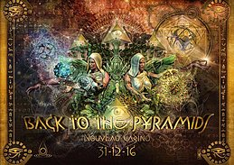Party flyer: Back To The Pyramids - Bloombastic New Year's Eve Party 31 Dec '16, 23:00