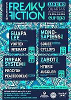 Party flyer: FREAKY FICTION 11 Jan '17, 23:00