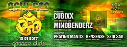 Party flyer: Psybox - *** New Era *** with Mindbenderz & Cubixx 13 Jan '17, 22:00