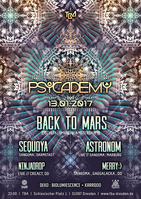 Party flyer: Psycademy 13 Jan '17, 23:00