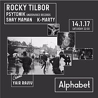 Party flyer: Sabotage @ Alphabet Club 14 Jan '17, 22:00