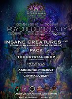 Party flyer: PSYCHEDELIC UNITY - Insane Creatures (Live) 20 Jan '17, 22:00