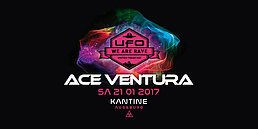 Party flyer: UFO ☆ Ace Ventura & ON3 Live 21 Jan '17, 22:30