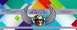 Party flyer: ☆ We Love BANSI ☆ MENOG / Atomizers / D_maniac 21 Jan '17, 23:30