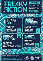 Party flyer: FREAKY FICTION 25 Jan '17, 23:00