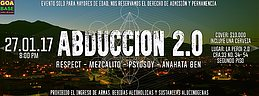 Party flyer: Abduccion 2.0 27 Jan '17, 20:00