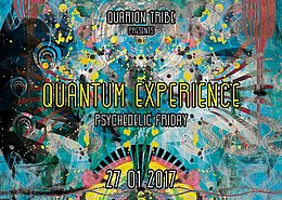 Party flyer: Quantum Experience 27 Jan '17, 22:00