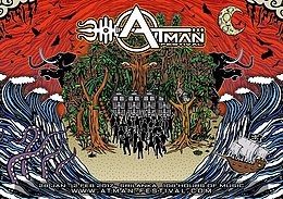 Party flyer: atman festval 2017 28 Jan '17, 17:30