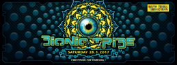 Party flyer: Bionic Tribe 27 Jan '17, 21:00