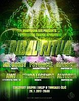 Party flyer: TRIBAL RITUAL 28 Jan '17, 20:00