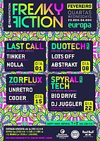 Party flyer: FREAKY FICTION 1 Feb '17, 23:00