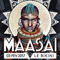 Party flyer: Maasaï #2 // Coming Soon, Fender Bender, Aviation, Marco Messari 3 Feb '17, 23:00