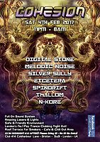 Party flyer: Cohesion PsyTrance Adventure 4 Feb '17, 23:00