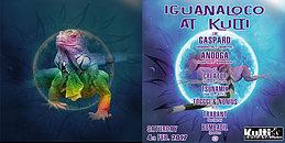 Party flyer: IGUANALOCO AT KULTI 4 Feb '17, 22:00