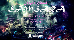 Party flyer: Samsara ۞ Night Ritual 4 Feb '17, 18:00