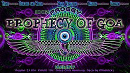 Party flyer: 100% Proggy - Prophecy of Goa 10 Feb '17, 20:00