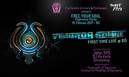 Party flyer: Psychedelic Animals & Mukkepack present: FREE YOUR SOUL 10 Feb '17, 21:00