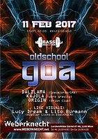Party flyer: Oldschool Goa Party @ Weberknecht 11 Feb '17, 22:00