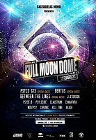 "Party flyer: Skizodelic Mind Party ""Full Moon Dome"" 11 Feb '17, 22:00"