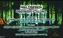Party flyer: Waldbeben meets Oberberg Calling 11 Feb '17, 20:00
