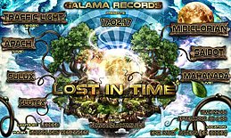 Party flyer: Lost in Time 17 Feb '17, 22:00