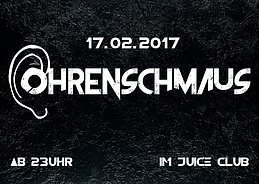 Party flyer: OHRRENSCHMAUS 17 Feb '17, 23:00