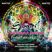 Party flyer: Shanti@Psycarnival 17 Feb '17, 22:00