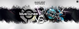 Party flyer: Fusion Elements 5 x Blue Tunes Rec. Label Night 18 Feb '17, 22:00
