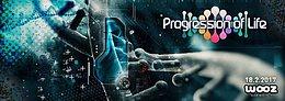 Party flyer: Progression Of Life: Flegma, Ectima, Krumelur, Hellquist 18 Feb '17, 22:00