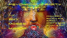 Party flyer: Psychedelic Party 18 Feb '17, 22:00