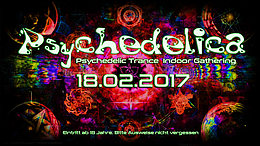 Party flyer: Psychedelica 18 Feb '17, 21:00