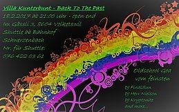 Party flyer: Villa Kunterbunt - Back To The Past 18 Feb '17, 21:00