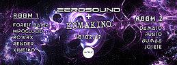 Party flyer: ZEROSOUNDS + KOMAKINO @ Jungle Club, Valencia 18 Feb '17, 22:00