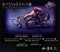 Party flyer: ■Kipod Crew▪Bataverna▪9 Years Anniversary■ 23 Feb '17, 22:00