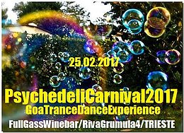 Party flyer: PsychedeliCarnival 2017 25 Feb '17, 21:30