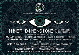 Party flyer: INNER VIEW // Audiopathik & Extraterrestrial Live // Funktion-1 3 Mar '17, 22:00