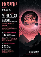 Party flyer: Nibirii: VINI VICI, Anneli, uvm. 3 Mar '17, 23:00