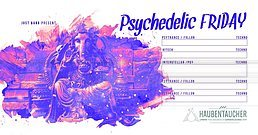 Party flyer: Psychedelic Friday w/ Systematic,John Kotti,Jespa,Sascha Lindner 3 Mar '17, 23:00