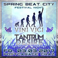 Party flyer: Spring Beat City with VINI VICI & TANTRUM DESIRE 3 Mar '17, 23:00