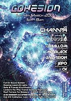 Party flyer: Cohesion 4th of March at Club 414 With: Champa ,Psibindi & More! 4 Mar '17, 11:00