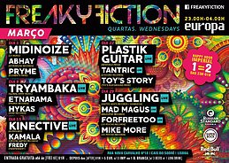 Party flyer: FREAKY FICTION 8 Mar '17, 23:00