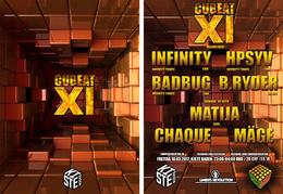 Party flyer: Cubeat Vol. 11 10 Mar '17, 23:00