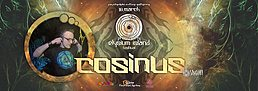 Party flyer: Elysium Island Festival meets Cosinus (Sangoma records) 10 Mar '17, 22:00