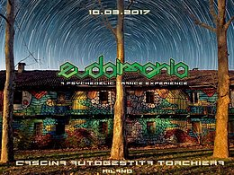 Party flyer: EUDAIMONIA | CASCINA TORCHIERA 10 Mar '17, 21:00