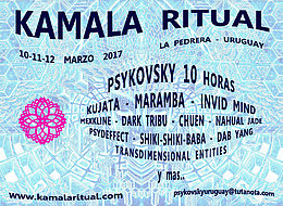 Party flyer: Kamala Ritual 10 Mar '17, 10:00