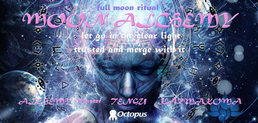Party flyer: MOON Alchemy ॐ Full Moon Ritual 10 Mar '17, 19:00