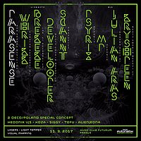 Party flyer: FuturistiX 11 Mar '17, 21:00