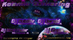 Party flyer: Kosmic Gathering 11 Mar '17, 22:00